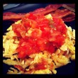 Smothered hashbrowns, Mexican style